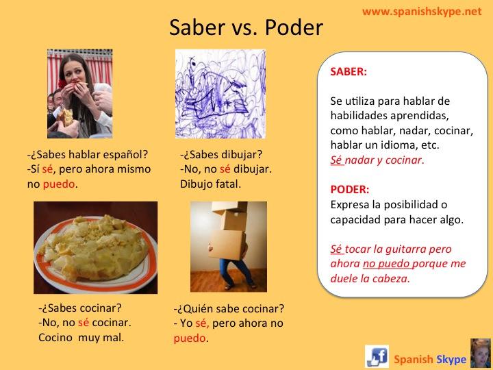 Saber vs. Poder