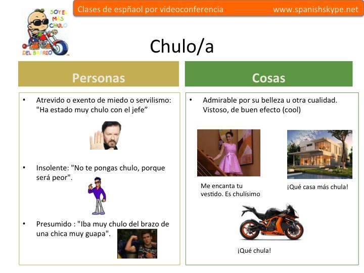 Chulo/a