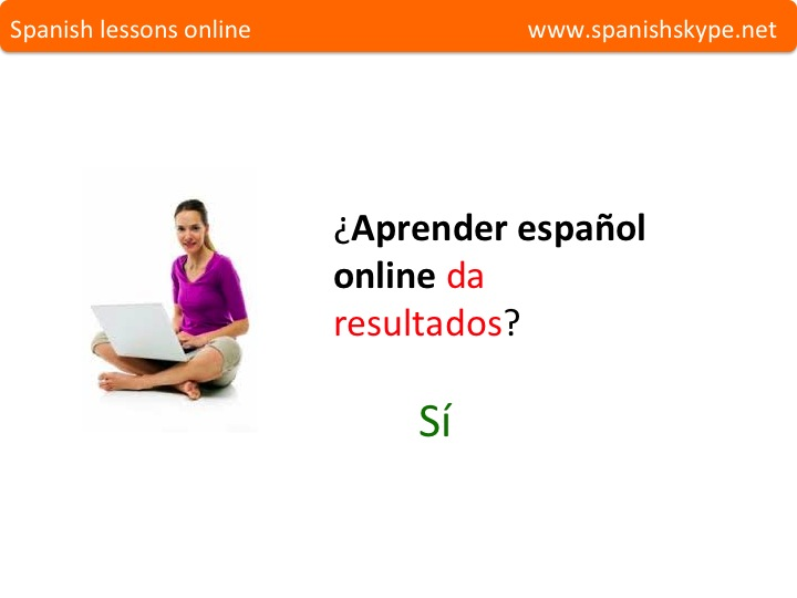 Español online funciona