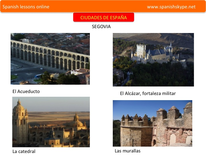 CITIES AND TOWNS OF SPAIN